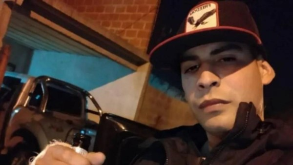 Gabriel Emiliano Benítez se encontrara justo en el momento en que la agresora hizo su aparición.