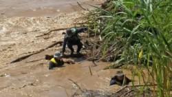 El cuerpo de la víctima fatal fue encontrado a diez kilómetros de distancia de donde ocurrió el naufragio del gomón.