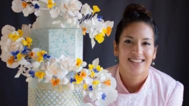 Artesana y arquitecta. Sayi Congregado sigue sorprendiendo con sus creaciones en la pastelería.