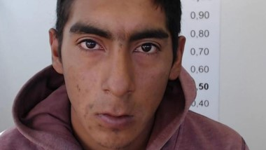 """Carlos """"Ze Pequeño""""  Fernández llegó en compañía de su abogado."""