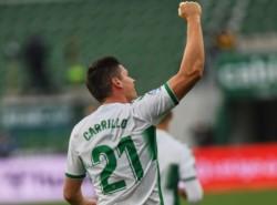 Raúl Guti y Guido Carrillo anotaron en el triunfo 2-1 para el local.