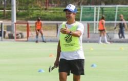 Jorge Lombi, máximo goleador histórico de la selección, capacita en Puerto Madryn..