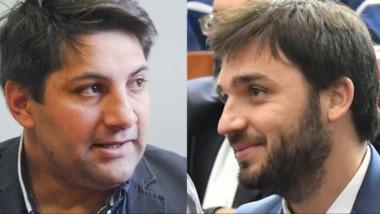 """Enfrentados. López (izquierda) denunció a """"Nacho"""" por una presunta extorsión con la cámara oculta."""