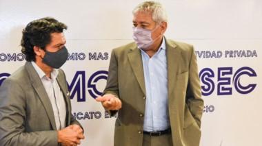 Diego Carmona y Alfredo Béliz brindaron detalles de la nueva propuesta.