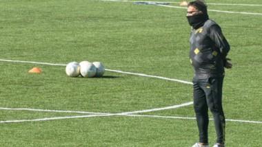 Ricardo Pancaldo, técnico de Deportivo Madryn, mostró satisfacción por la victoria conseguida anteayer.