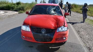 El vehículo WV Gol  fue secuestrado y peritado para determinar la mecánica de la fatídica colisión.