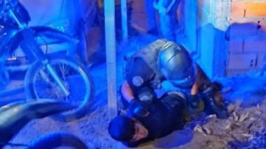Preso. Intentó llevarse repuestos y terminó en manos policiales.