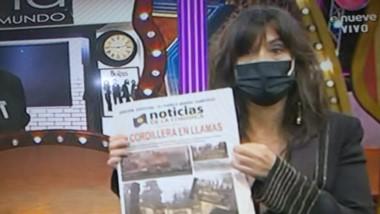'Noticias de la Comarca',  busca concientizar sobre la problemática de los incendios forestales en la región.