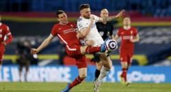 Con un gol de Diego Llorente sobre los 87 minutos, Leeds United igualó con Liverpool.