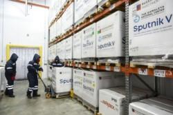 El Gobierno nacional ya comenzó a distribuir entre todas las jurisdicciones una nueva partida de 306 mil dosis del componente 1 de las vacunas Sputnik V.