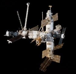 La estación espacial rusa