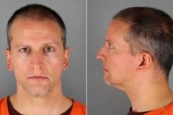Derek Chauvin condenado a 12 años y medios de prisión, declarado culpable del asesinato del afroamericano George Floyd.