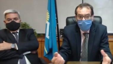 Vía videconferencia, los representantes de la Justicia mantuvieron el encuentro con los diputados.