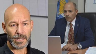 Enfrentados. El investigador (izquierda) hizo formal su acusación ante el juez Monti. Maglione habló y pidió que se abra l ainvestigación.
