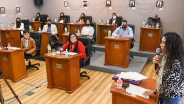 Elizabeth Mariela Chamorro habló  sobre el uso del tapaboca.
