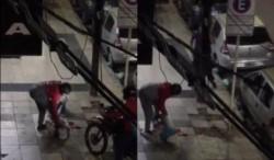 Un policía bonaerense herido de un perdigonazo en la cabeza fue ayudado por un motodelivery que se encargó de esposar a un ladrón.