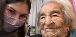 Casilda Ramona Benegas de Gallego es la persona más longeva del país. La saludaron bisnietos y nietos en su cumpleaños 114.