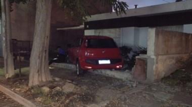 El accidente sucedió en la mañana de ayer en la calle 25 de Mayo.