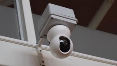 Equipos. Una de las cámaras HD que se instaló en el parlamento.