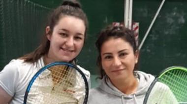 Agostina Rodríguez y Yamila Garipe ya están en semis de 1ra Damas.