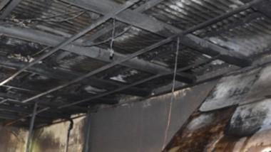 Los daños se evidenciaron en la totalidad de la estructura.