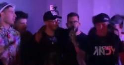 Carlos Tevez de fiesta: cantó en el cumple de su hija junto a Fer Palacio y El Show de Andy.
