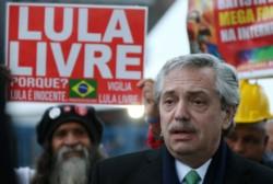 Alberto visitó a Lula cuando estuvo en prisión por el Lawfare de Brasil.