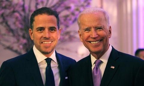 Hunter Biden, hijo del actual presidente de Estados Unidos.
