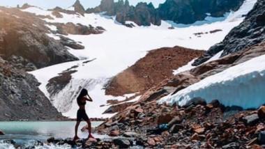 El cerro Hielo Azul es visitado por miles de turistas en cada temporada.