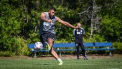 Wanchope Ábila ya se entrena junto al plantel de su nuevo club, Minnesota United, donde se reencontró con Bebelo Reynoso.