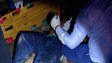 El hombre herido fue trasladado de manera urgente al Hospital Zonal.