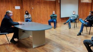 El intendente Ongarato encabezó una charla con concejales de distintos bloques en el Centro Cultural.