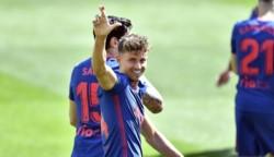 Marcos Llorente anotó su 12do gol en el