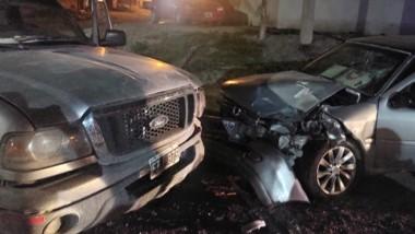Uno de los conductores debió ser trasladado al hospital Andrés Ìsola