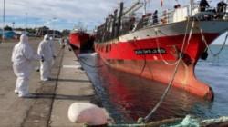La víctima fue identificada como Manuel Quiquinte y es el primer trabajador pesquero en morir embarcado a causa de coronavirus desde el inicio de la pandemia. (La Opinión Austral)