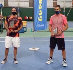 Bruno Stretti y Aldo Babino, finalistas de la 1ra categoría del Torneo Otoño.