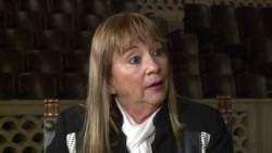 Alicia Mabel Reynoso, quien prestó servicios en el Hospital de Campaña reubicable de Comodoro Rivadavia durante el conflicto.