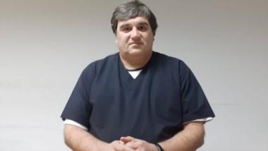 Norman Casado. Del hospital.