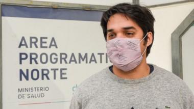 Mauricio Laborde, de Salud.