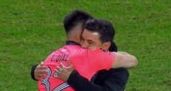 Leonardo Díaz tuvo un gran rendimiento en su debut absoluto con la camiseta de River y luego del partido, tanto Gallardo como Tévez elogiaron su actuación.