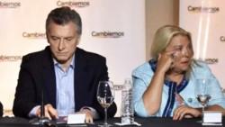 La líder de la Coalición Cívica, Elisa Carrió, criticó al ex presidente Mauricio Macri.
