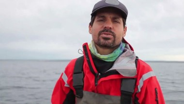 Irigoyen desarrolla estudios de sistemas marinos para el CONICET.