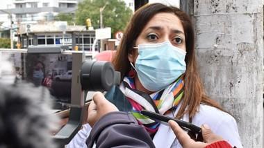 Pedido. Mariela González insistió con reclamar cuidados individuales.