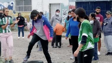La actividad deportiva estuvo destinada a personas con discapacidad.
