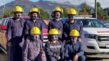 Historia. Los 7 primeros bomberos voluntarios de Carrenleufú.