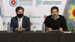 El jefe de Gabinete bonaerense, Carlos Bianco (D), sostuvo que