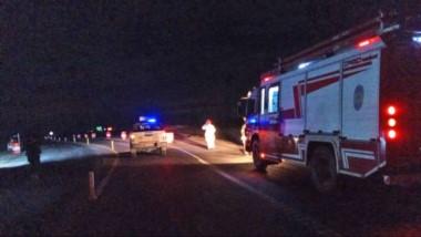 El siniestro vial ocurrió de madrugada entre la rotonda de acceso Sur y el acceso norte a Puerto Madryn.