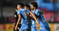 El conjunto del Viaducto superó de local 3-1 a Bolívar con doblete de Lucas Albertengo y sacó su boleto a la siguiente fase.