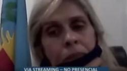 La presidenta del Concejo Deliberante de Navarro, Paola Maggioti, utilizó la maradoneana expresión