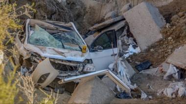 Los otros dos ocupantes del auto siniestrado en El Doradillo sufrieron lesiones de distinta gravedad.